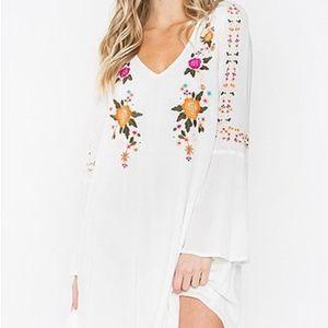 NEW Sugarlips Bell Sleeve Dress